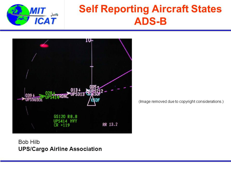 Self Reporting Aircraft States ADS-B