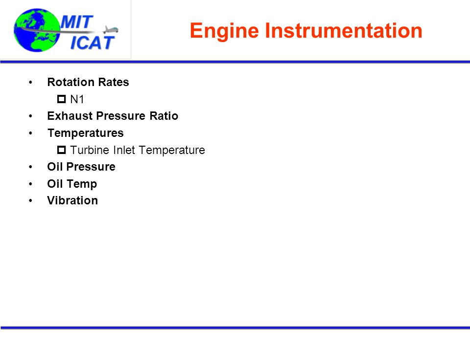 Engine Instrumentation