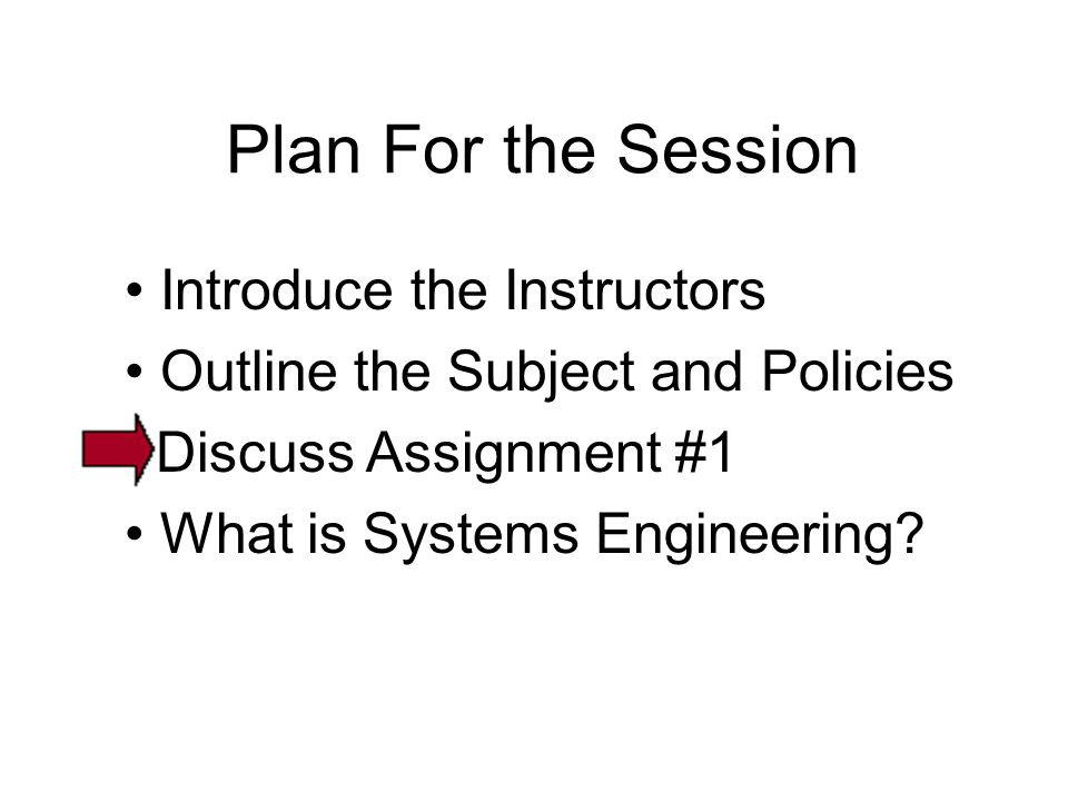 Plan For the Session • Introduce the Instructors