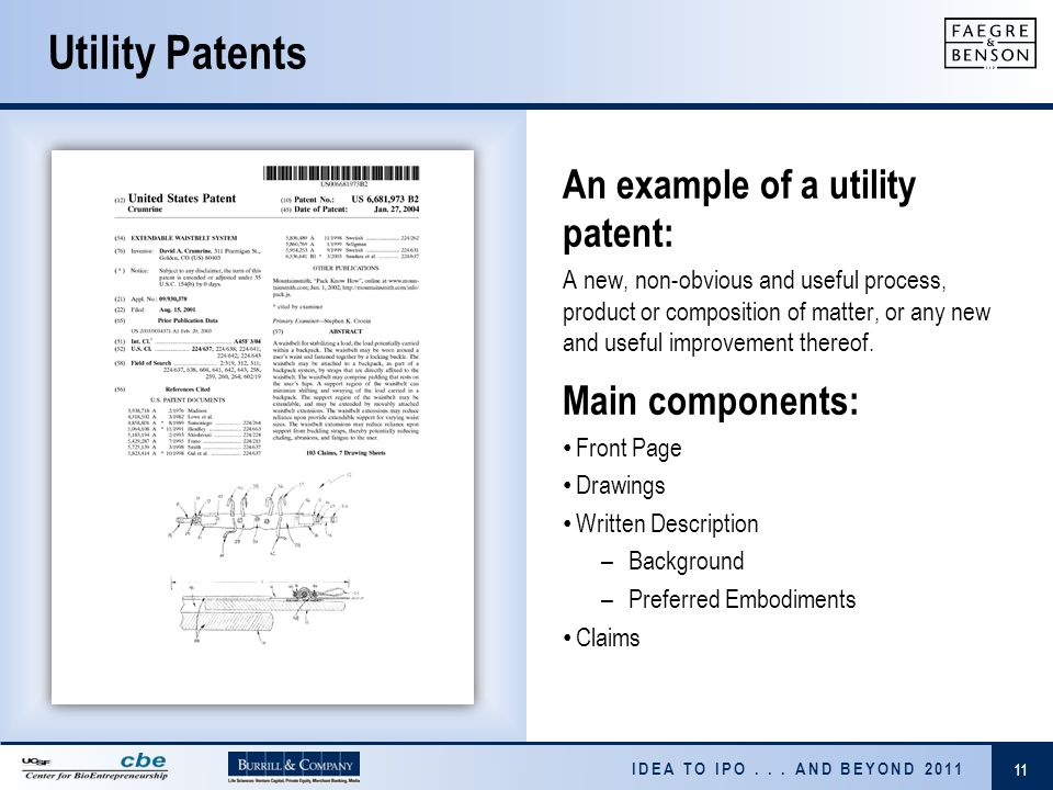 utility patent application template - sean solberg and victor jonas ppt download