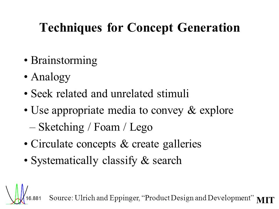 Techniques for Concept Generation