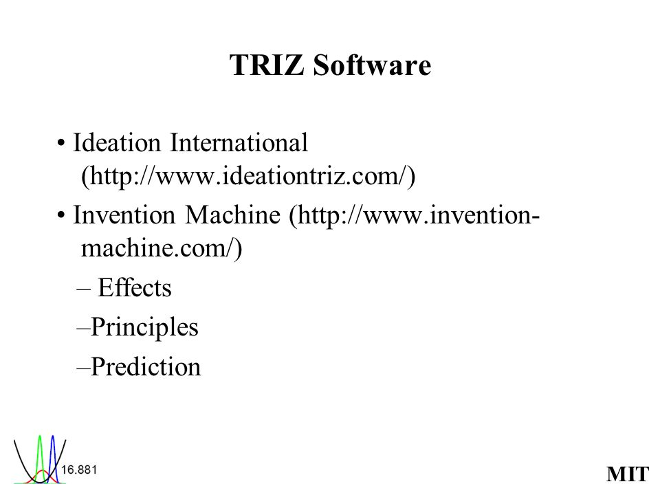 TRIZ Software • Ideation International (http://www.ideationtriz.com/)