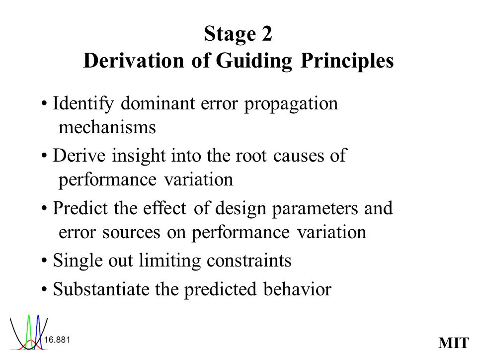 Stage 2 Derivation of Guiding Principles