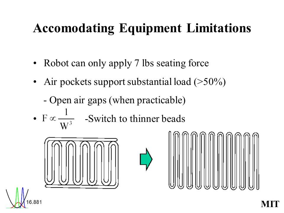 Accomodating Equipment Limitations
