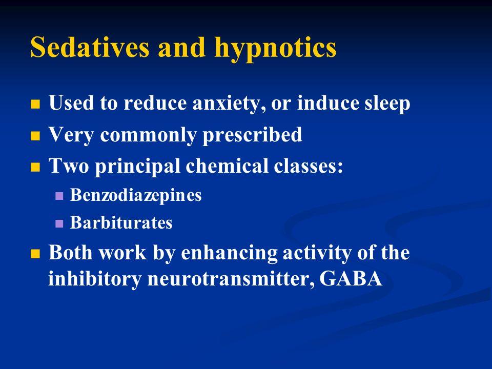 Sedatives and hypnotics