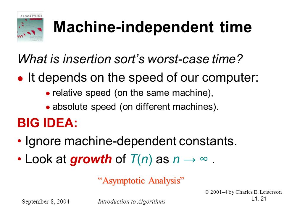 Machine-independent time