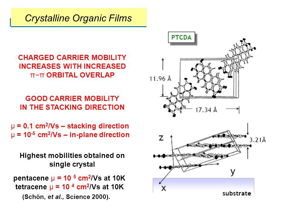 Crystalline Organic Films