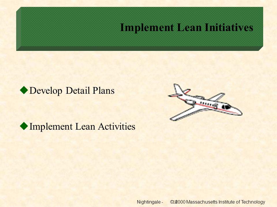 Implement Lean Initiatives