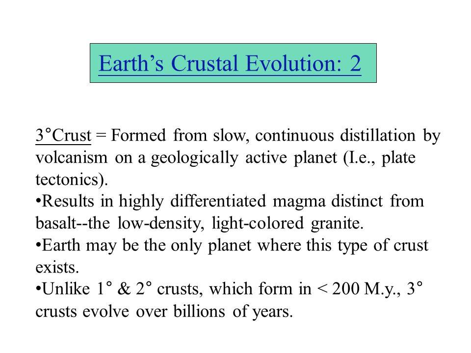 Earth's Crustal Evolution: 2