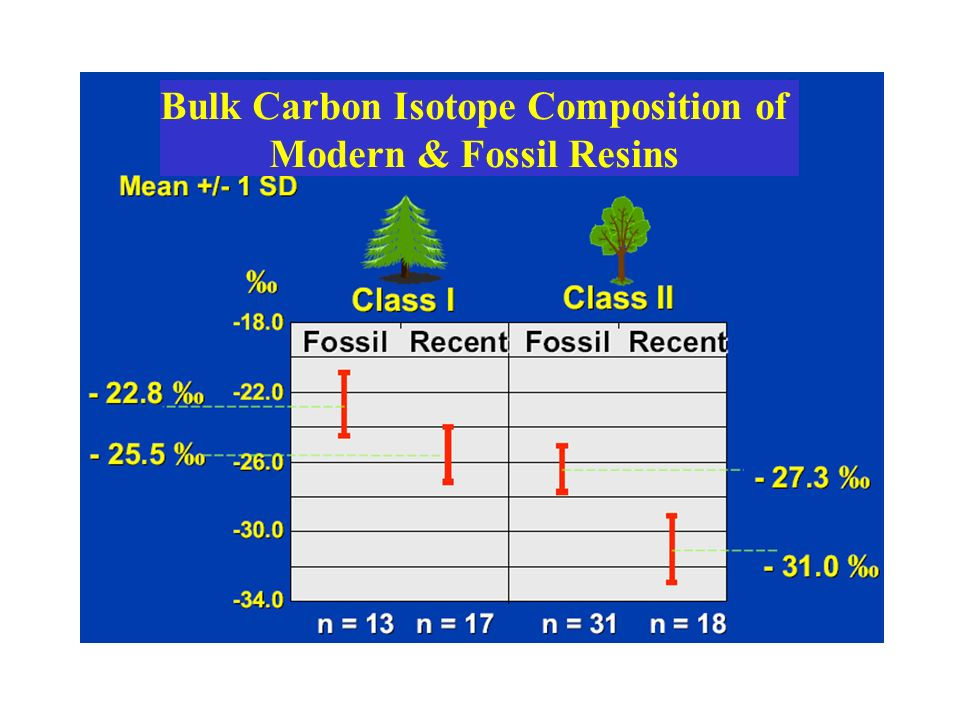 Bulk Carbon Isotope Composition of