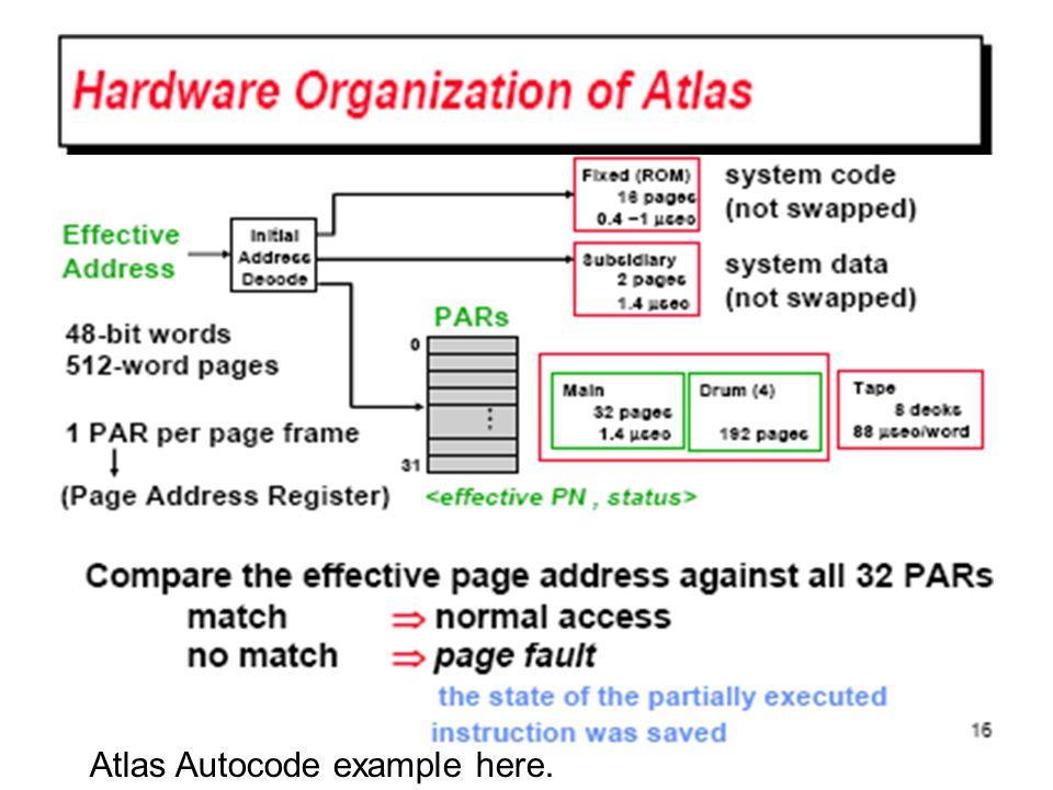 Atlas Autocode example here.