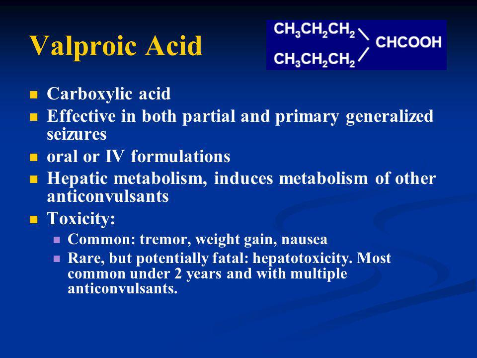 Valproic Acid Carboxylic acid