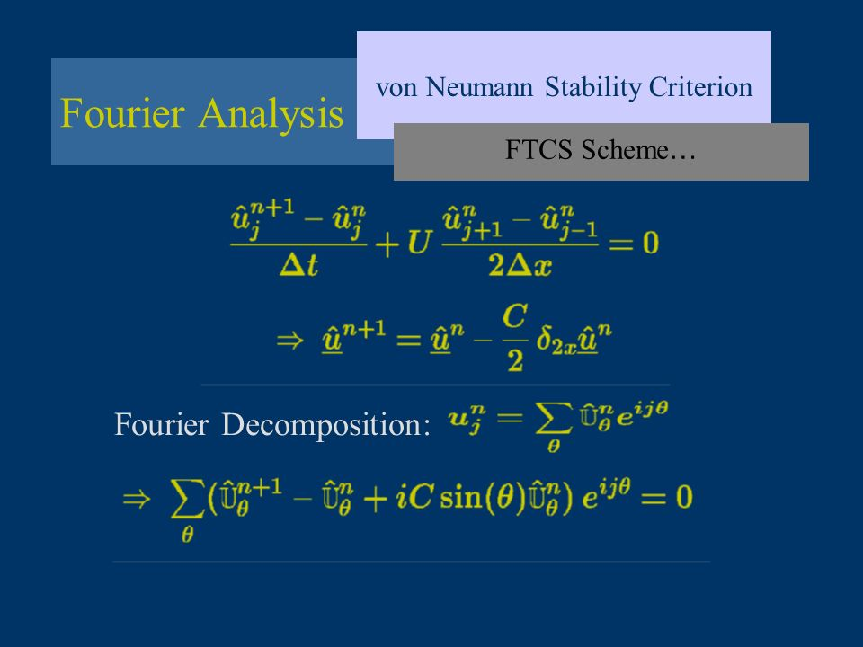 von Neumann Stability Criterion