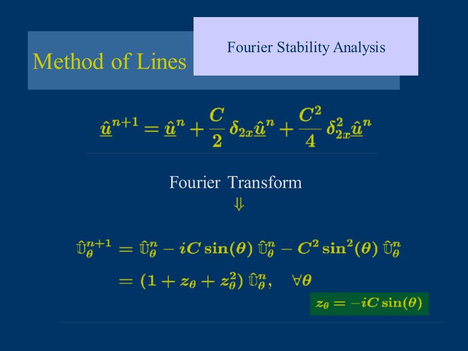 Fourier Stability Analysis