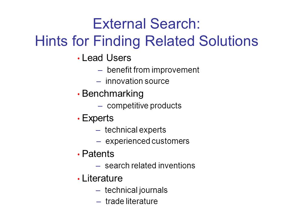 Hints for Finding Related Solutions