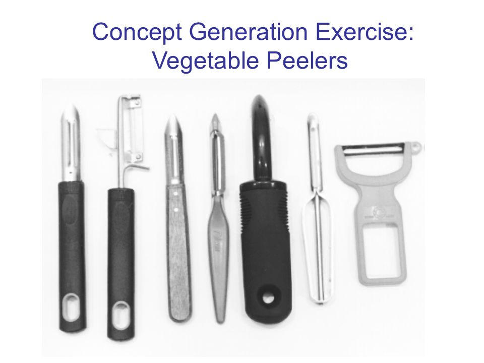 Concept Generation Exercise: