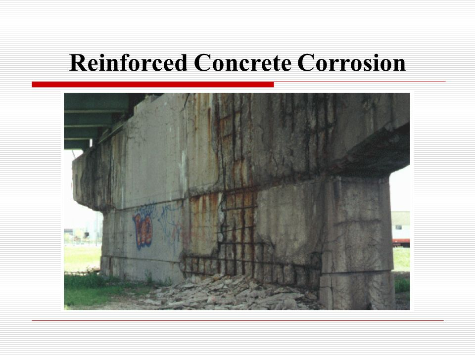 corrosion in reinforced concrete paper This paper presents a discussion of behavior ofmetals other than reinforcing steel , plastics, wood, and glass, which are sometimes embedded in concrete for.