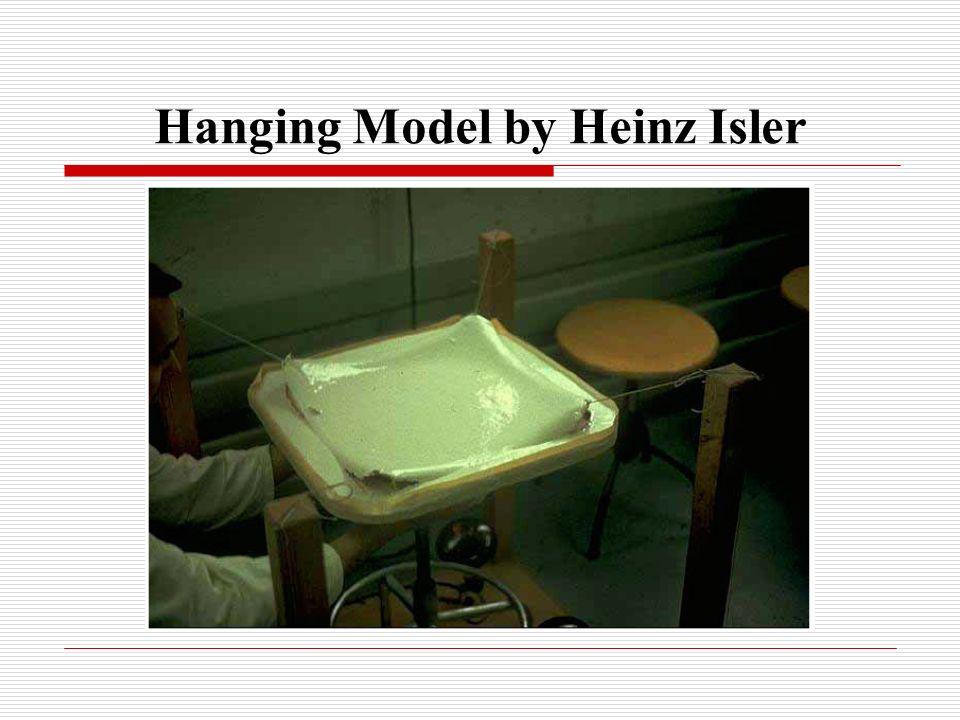 Hanging Model by Heinz Isler
