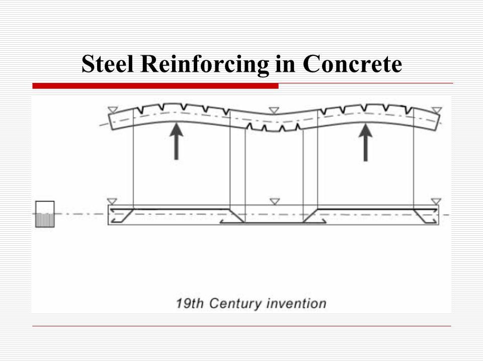 Steel Reinforcing in Concrete