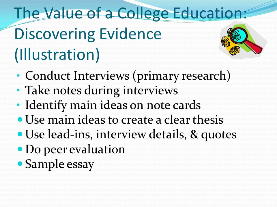 How To Write A Good Proposal Essay Evaluating The Value Of College Education Science And Technology Essays also Science Fiction Essay Evaluating The Value Of College Education Research Paper Sample  General English Essays