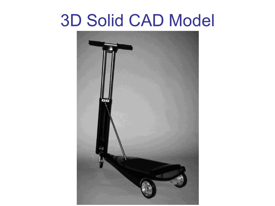 3D Solid CAD Model