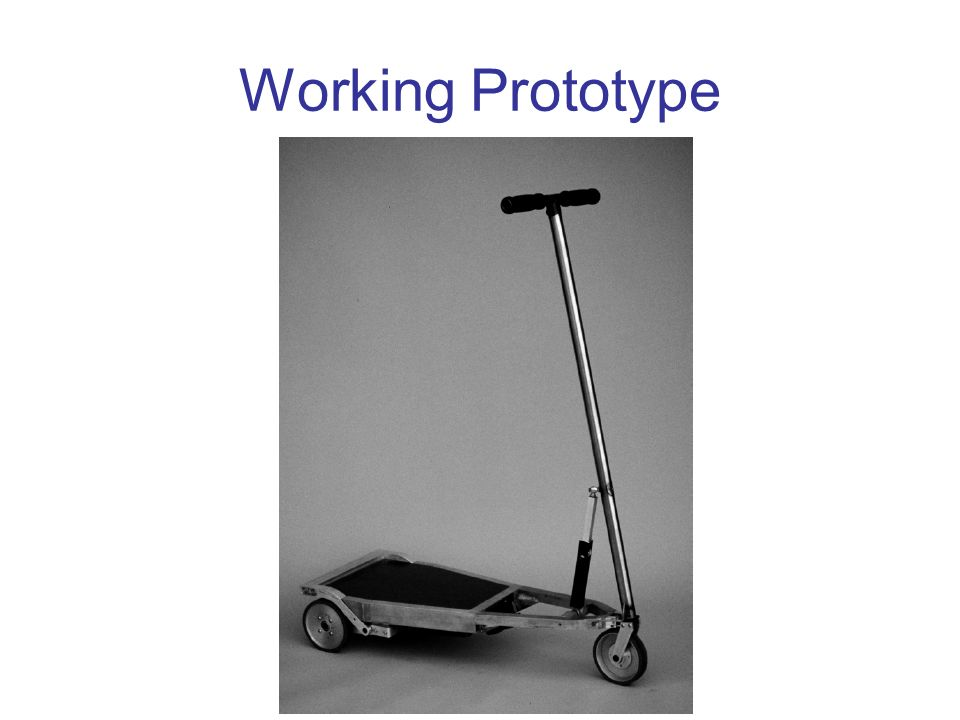 Working Prototype