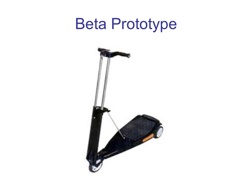Beta Prototype