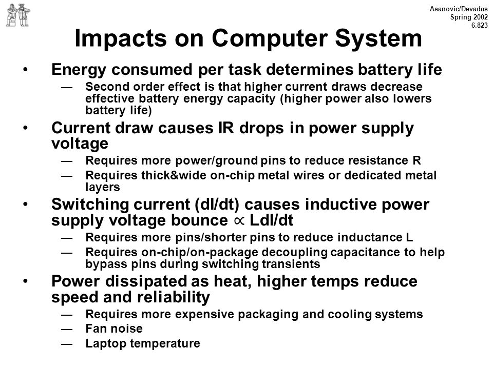 Impacts on Computer System