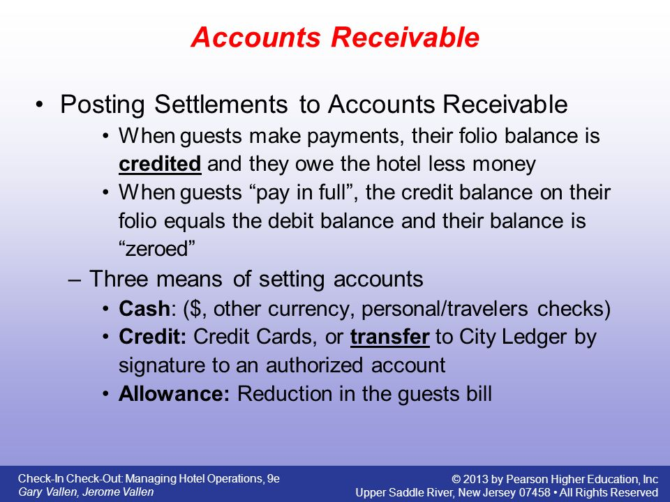 settlement period for accounts receivable To find your average gross receivables, add your accounts receivable at the beginning of the year to your accounts receivable at the end of the current accounting period and divide that sum by two.