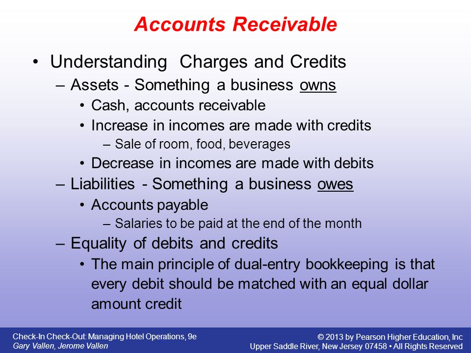 accounts receivable and increase If this value is defined as an increase then the value should be positive - or,   accounts receivable are not negative cash flows, but increases in accounts.