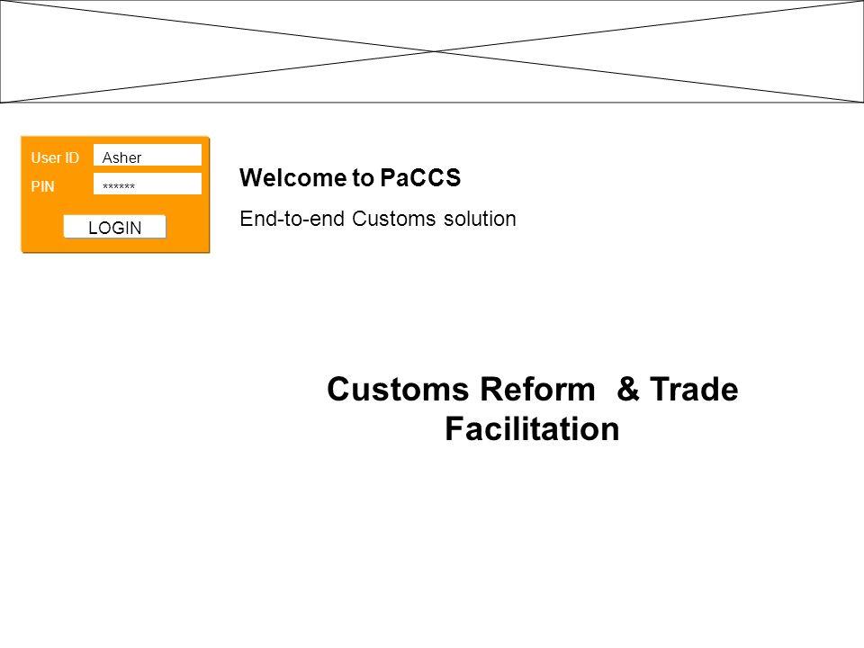 Customs Reform & Trade Facilitation