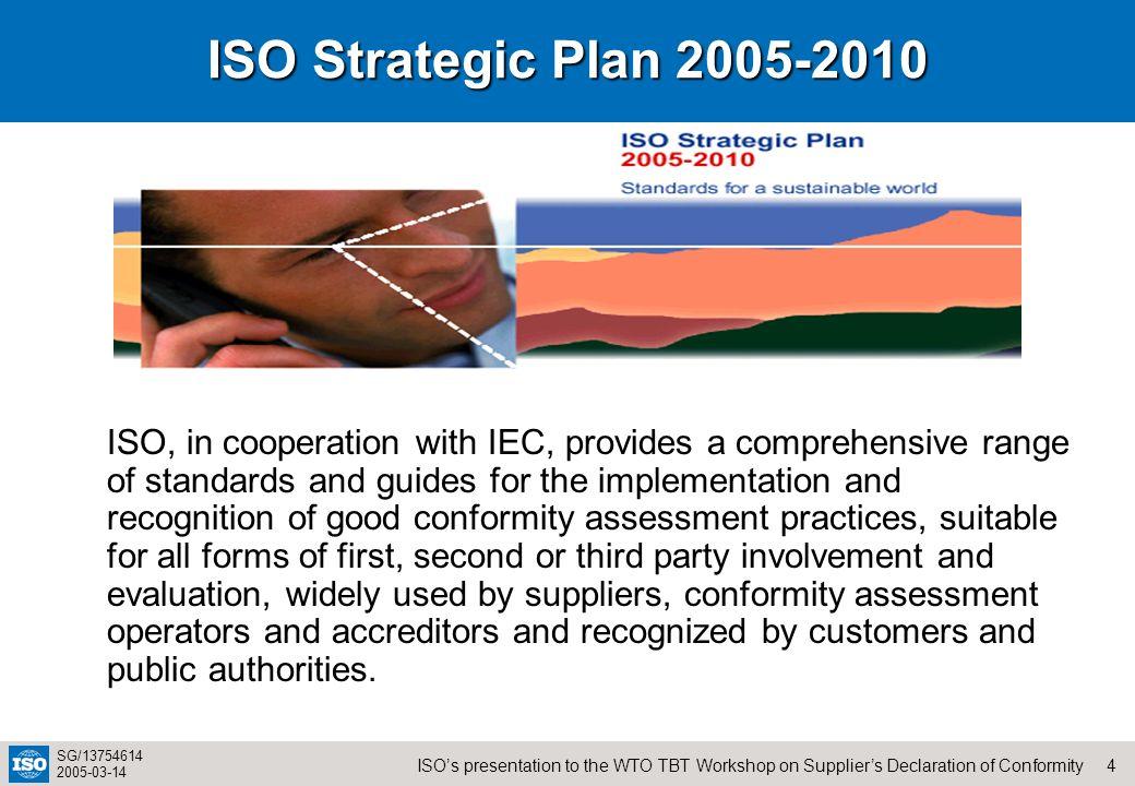 ISO Strategic Plan 2005-2010
