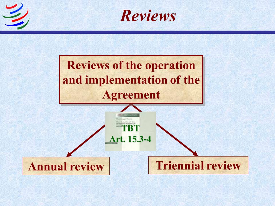 Reviews of the operation and implementation of the Agreement