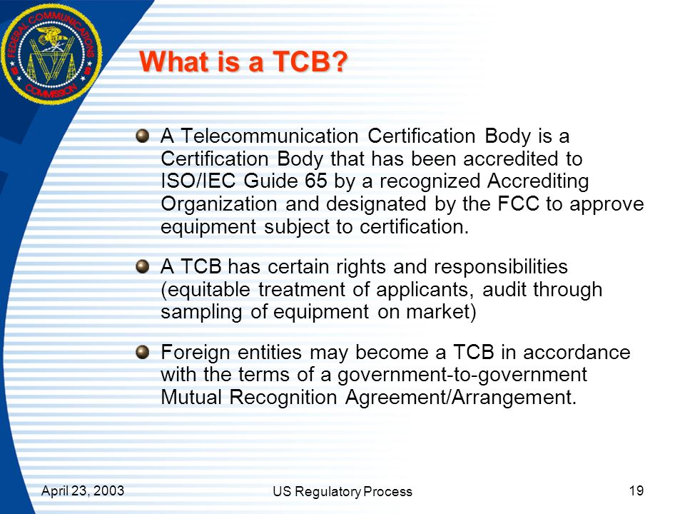 What is a TCB