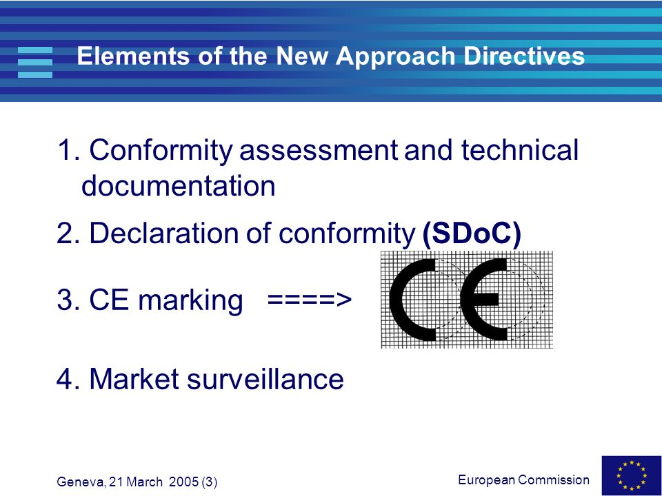 Elements of the New Approach Directives