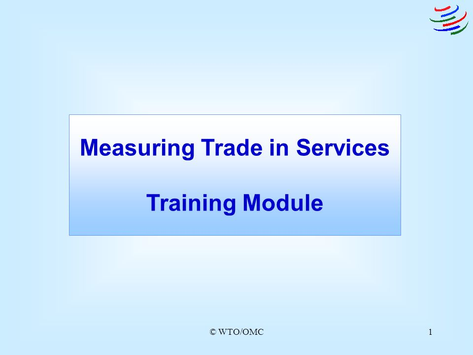 Measuring Trade in Services