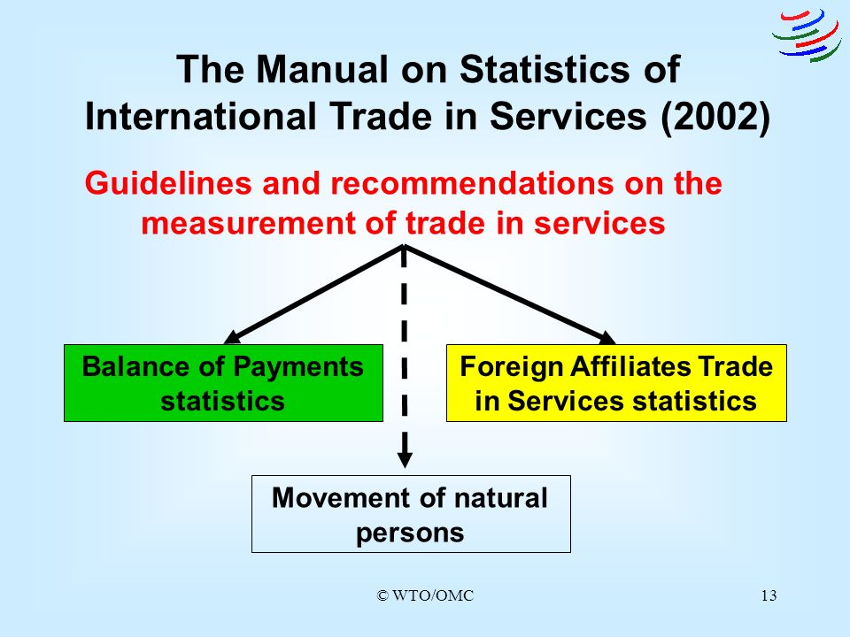 The Manual on Statistics of International Trade in Services (2002)