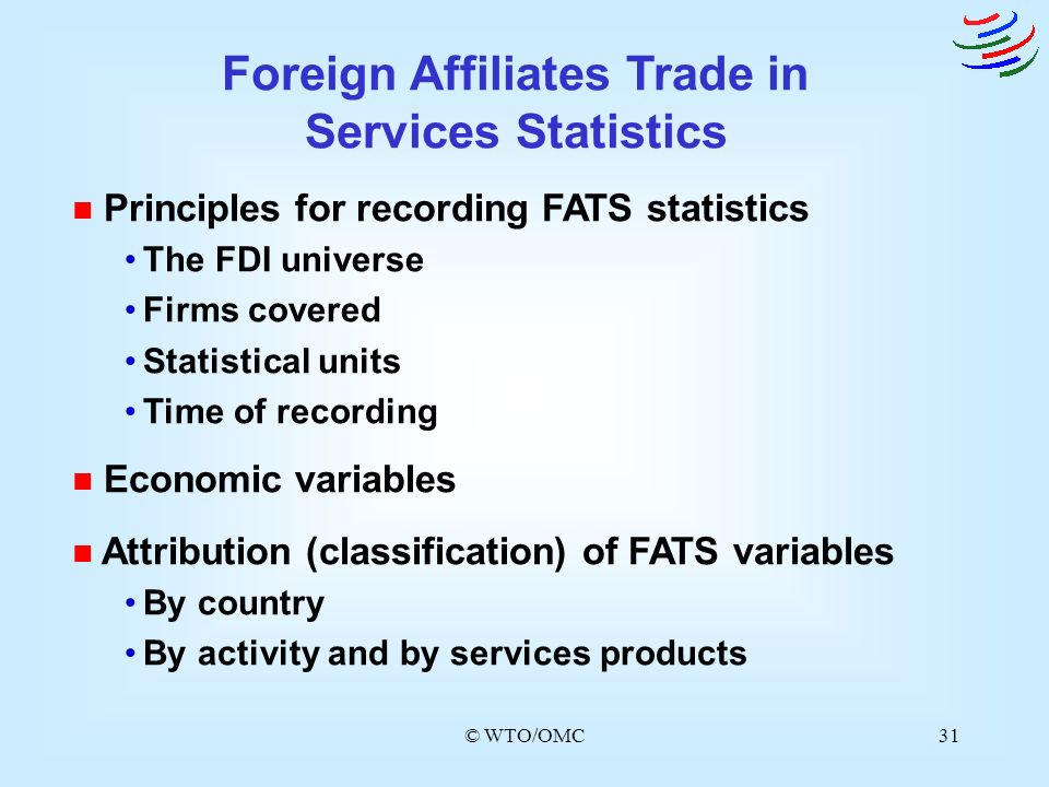 Foreign Affiliates Trade in Services Statistics