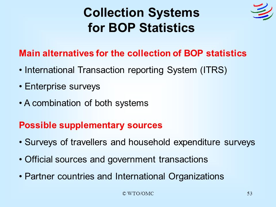 Collection Systems for BOP Statistics