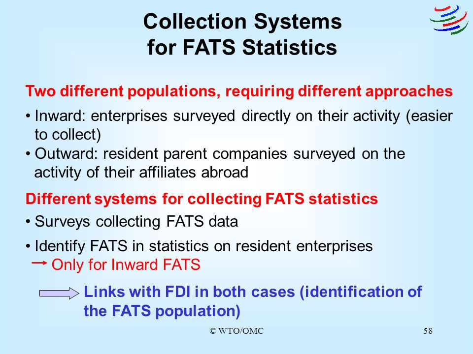 Collection Systems for FATS Statistics