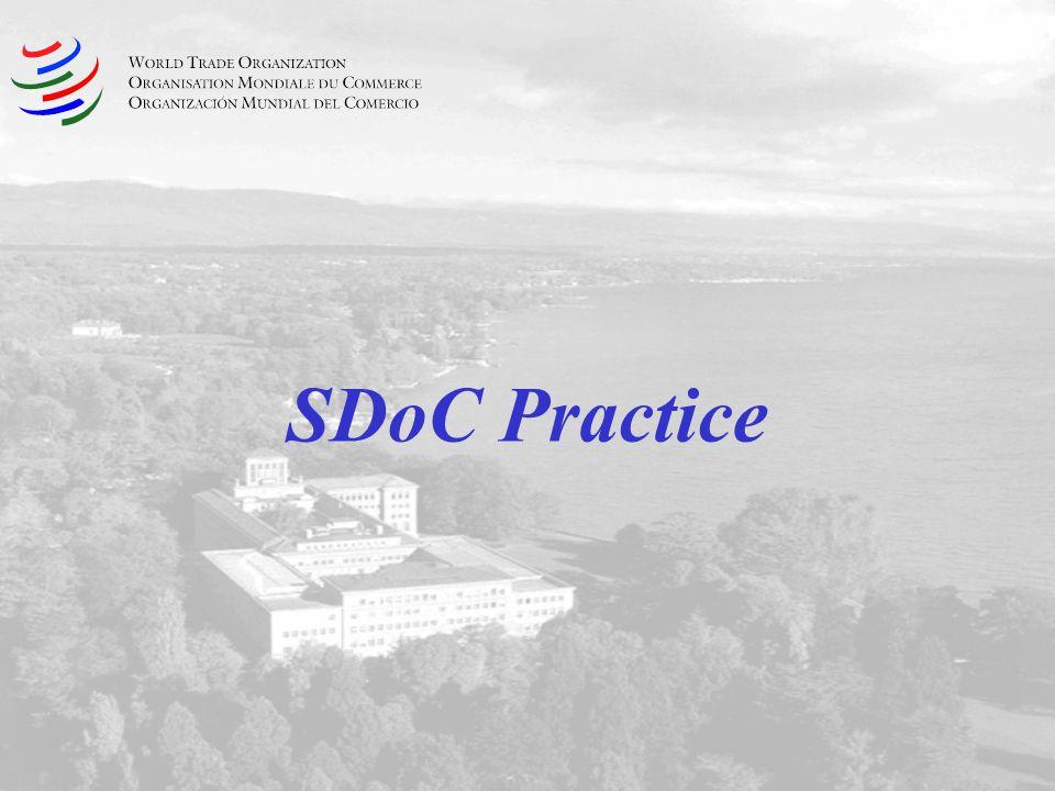 SDoC Practice