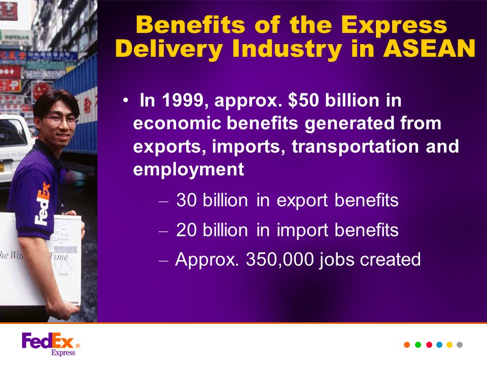 Benefits of the Express Delivery Industry in ASEAN