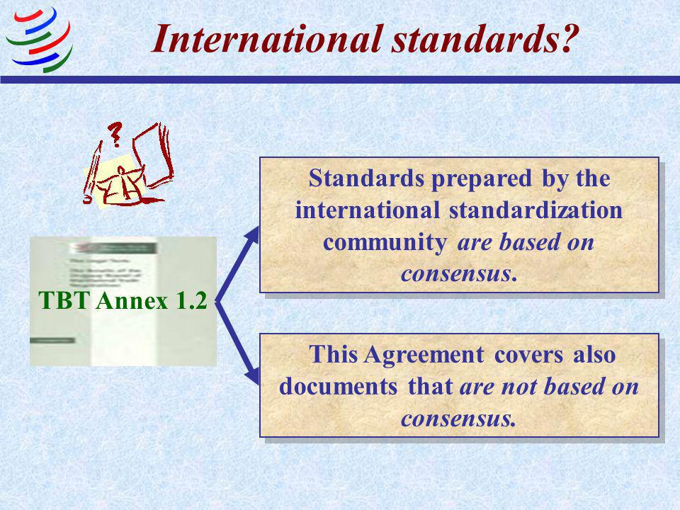 International standards