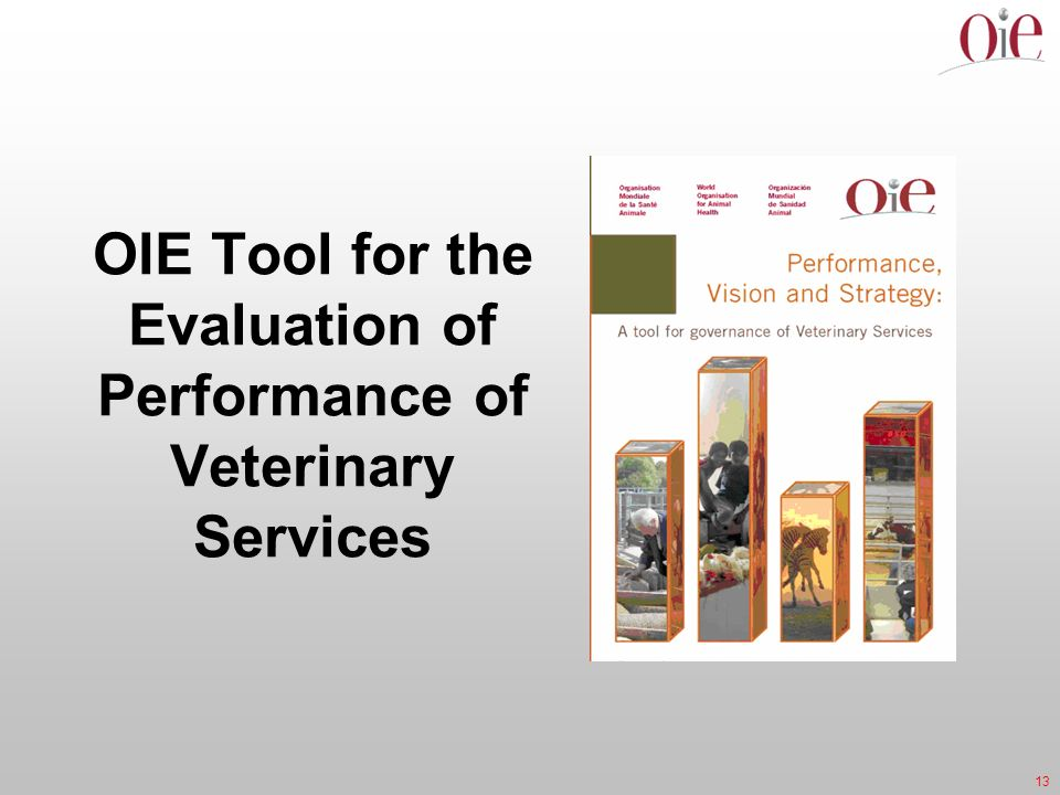 OIE Tool for the Evaluation of Performance of Veterinary Services