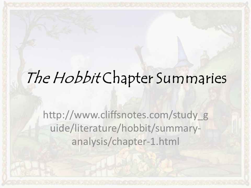 the hobbit chapter one summary Chapter 4 summary of the hobbit chapter 4 summary of the hobbit - title ebooks :  disease of desire 4 goblin slayer side story year one chapter 4 uncovering truths.
