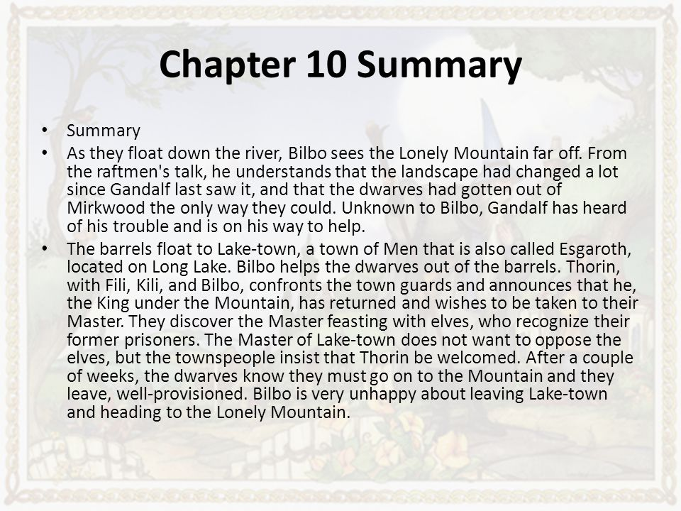 Bible Chapter Summaries