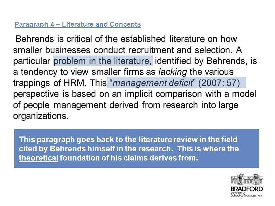 literature review on human resource management essay
