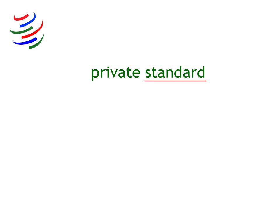 private standard