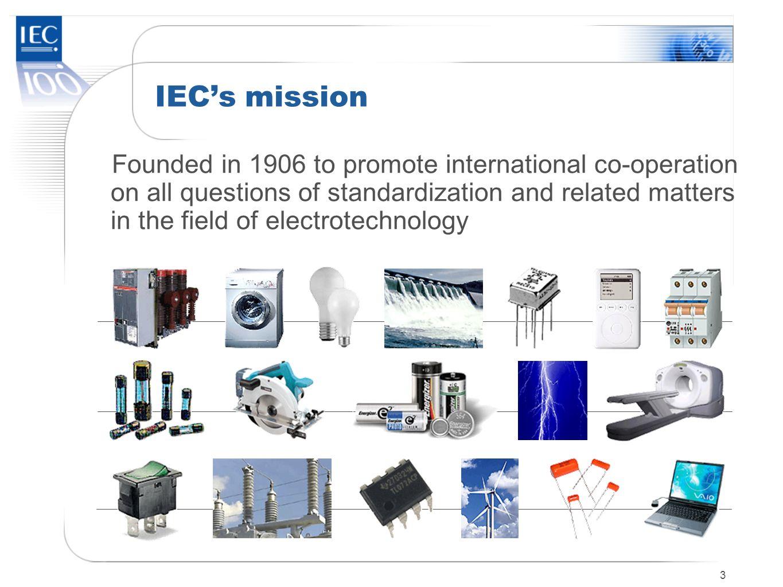 IEC's mission