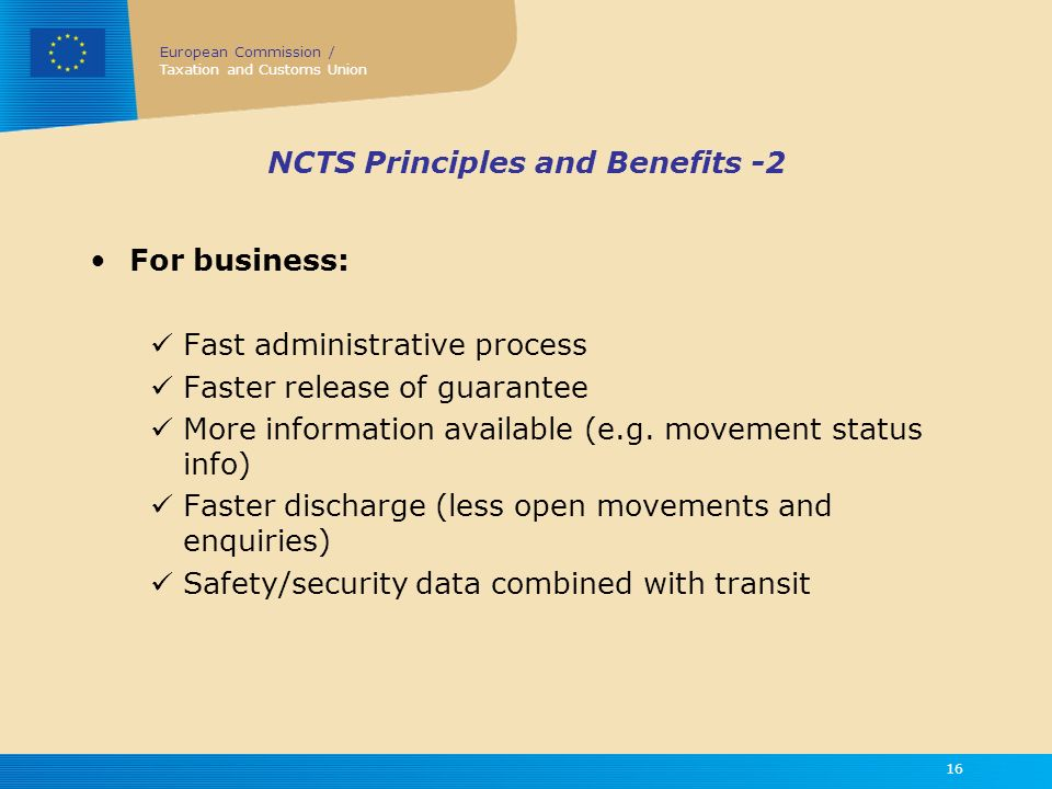 NCTS Principles and Benefits -2